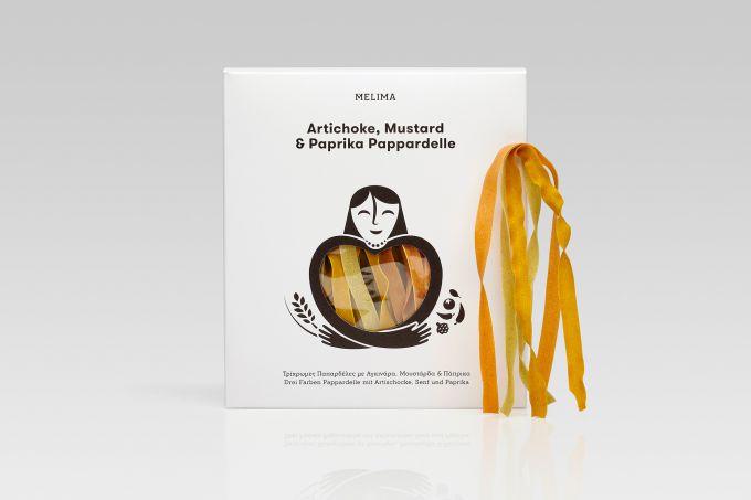 Artichoke, Mustard & Paprika Pappardelle