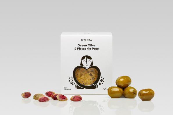Green Olive & Pistachio Pate