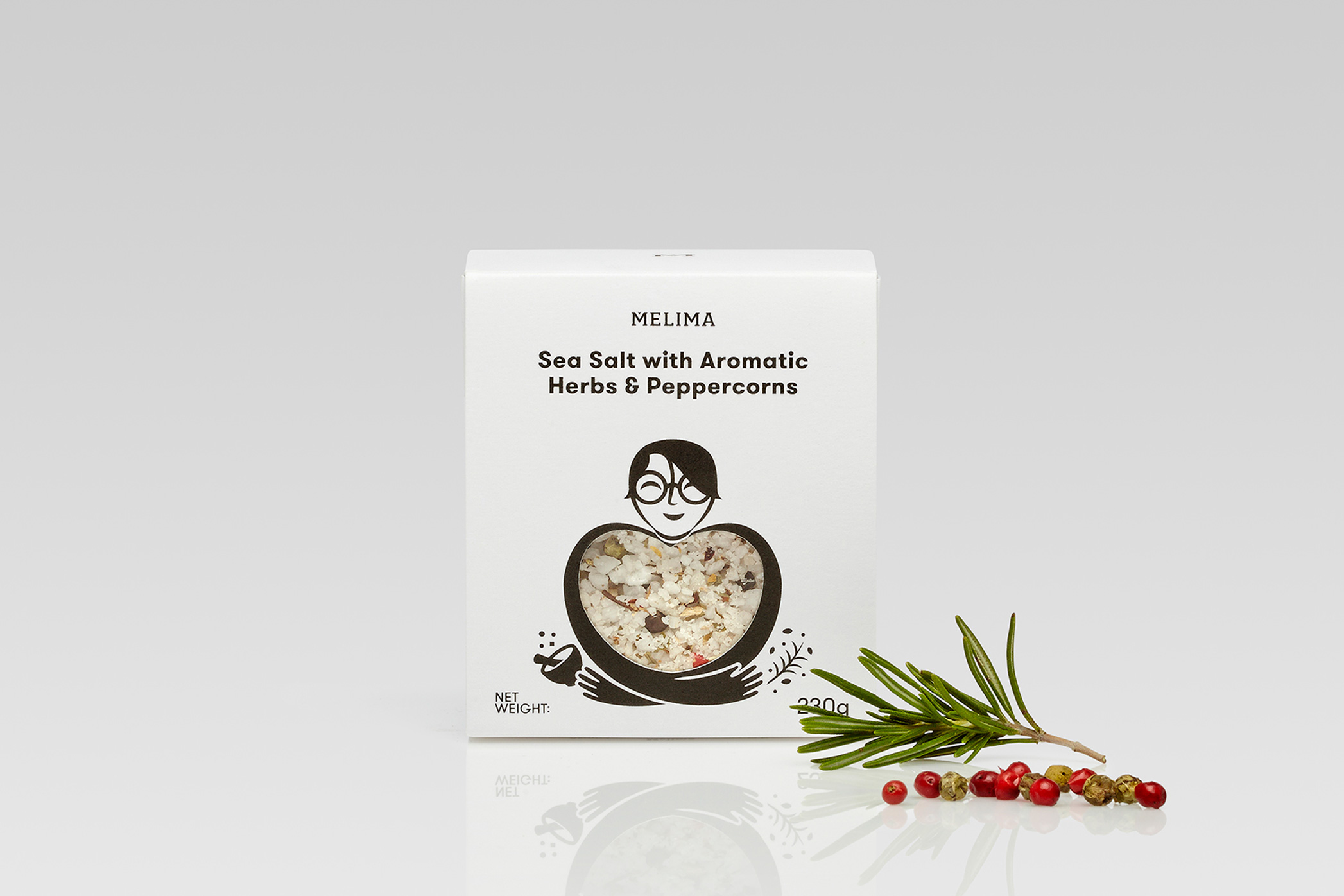 Sea Salt with Aromatic Herbs & Peppercorns