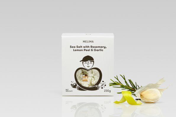 Sea Salt with Rosemary, Lemon Peel & Garlic