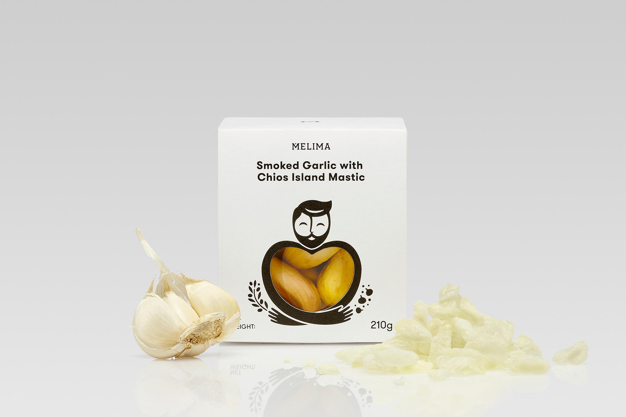 Smoked Garlic with Chios Island Mastic